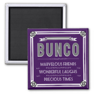 Bunco Vintage Typography Magnet