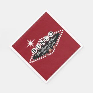 Bunco - What Happen At Bunco Paper Napkin