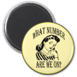 Bunco What Number Are We On #2 2 Inch Round Magnet