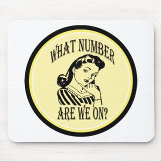 Bunco What Number Are We On #2 Mousepads