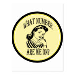 Bunco What Number Are We On #2 Postcard