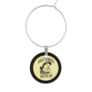 Bunco - What number are we on? lucky wine charm