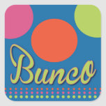 Bunco With Dots Sticker