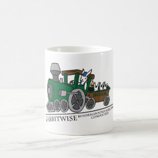 Bunderground Railroad Conductor Coffee Mug