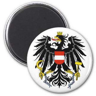 Bundesadler, Austria 2 Inch Round Magnet