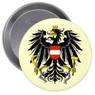 Bundesadler, Austria Pin Redondo 10 Cm