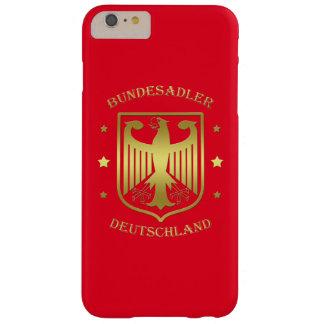 Bundesadler Deutschland Shine Gold Barely There iPhone 6 Plus Case