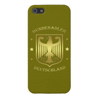 Bundesadler Deutschland Shine Gold Case For iPhone SE/5/5s