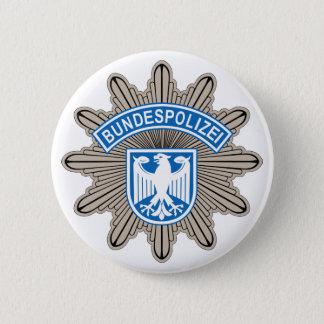 Bundespolizeistern badge button