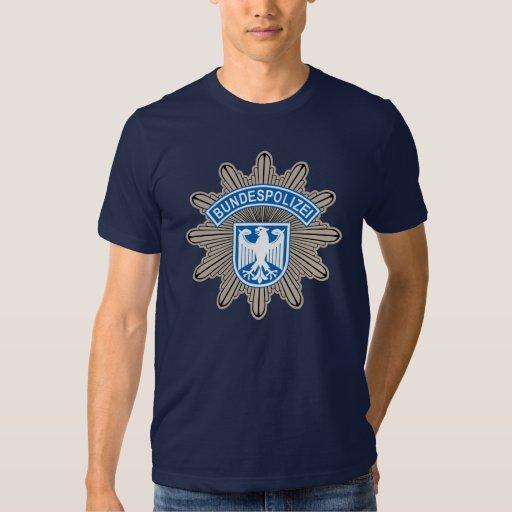 Bundespolizeistern Badge T-shirts