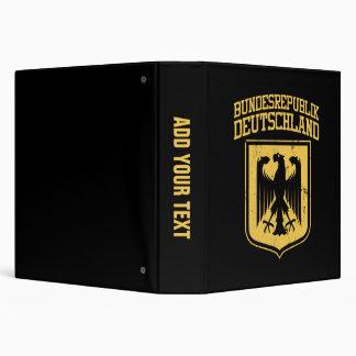 """Bundesrepublik Deutschland/alemán Eagle Carpeta 1 1/2"""""""