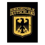 Bundesrepublik Deutschland/alemán Eagle Postales