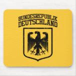 Bundesrepublik Deutschland/alemán Eagle Alfombrillas De Raton