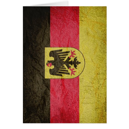 Bundesrepublik Deutschland Greeting Card
