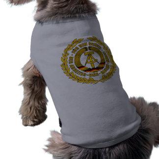 Bundesrepublik Deutschland / East Germany Crest Dog T Shirt