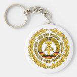 Bundesrepublik Deutschland / East Germany Crest Key Chain