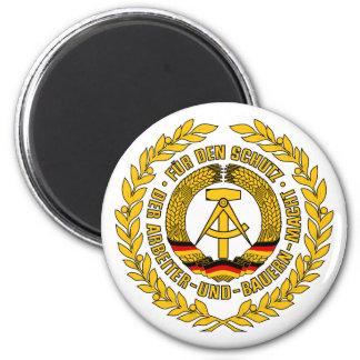 Bundesrepublik Deutschland / East Germany Crest Fridge Magnet