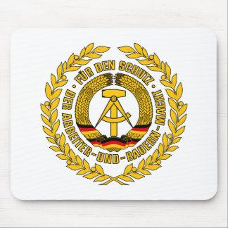 Bundesrepublik Deutschland / East Germany Crest Mouse Pad