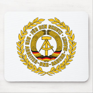 Bundesrepublik Deutschland / East Germany Crest Mouse Pad
