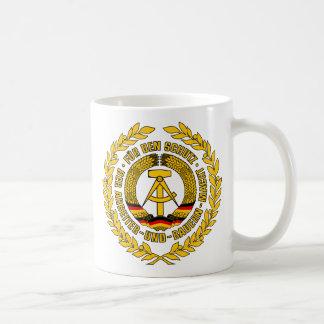 Bundesrepublik Deutschland / East Germany Crest Classic White Coffee Mug