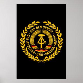 Bundesrepublik Deutschland / East Germany Wreath Posters