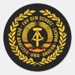 Bundesrepublik Deutschland / East Germany Wreath Stickers
