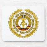 Bundesrepublik Deutschland/escudo de la Alemania O Alfombrilla De Ratones