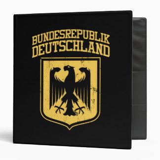 Bundesrepublik Deutschland / German Eagle 3 Ring Binder