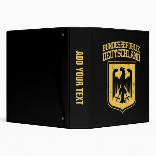 Bundesrepublik Deutschland / German Eagle Vinyl Binder