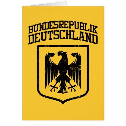 Bundesrepublik Deutschland / German Eagle Greeting Cards