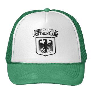 Bundesrepublik Deutschland German Eagle Trucker Hats