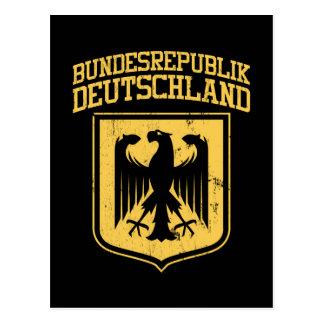 Bundesrepublik Deutschland / German Eagle Postcard