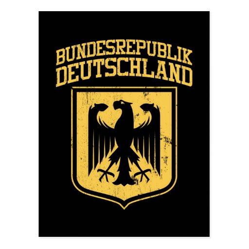 Bundesrepublik Deutschland / German Eagle Post Cards