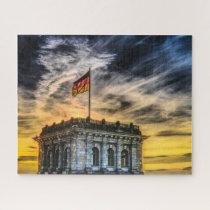 Bundestag Germany. Jigsaw Puzzle