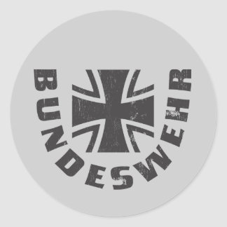 Bundeswehr Deutschland, Luftwaffe,German Air Force Classic Round Sticker