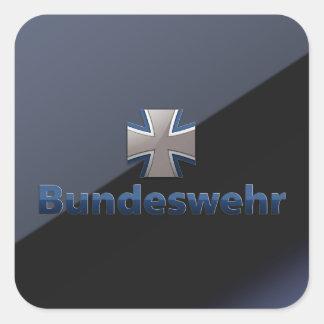 Bundeswehr Emblem Square Sticker