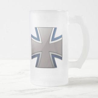 Bundeswehr Frosted Glass Beer Mug