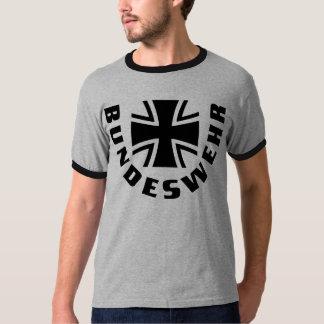 Bundeswehr Kreuz Schwarz Black Cross T-shirt