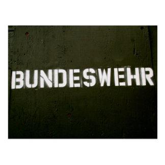 Bundeswehr Postcard