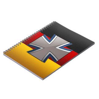 Bundeswehr Spiral Notebook