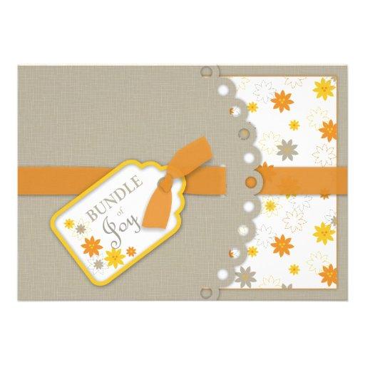 of joy baby shower invitation card 5 x 7 invitation card za