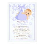 Bundle of Joy (Bl) Sprinkle Baby Shower Invitation