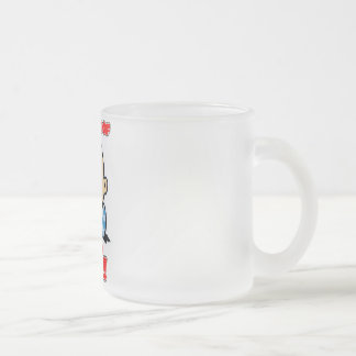Bundle of Joy - Mostly, Cute and Funny for Babies Frosted Glass Coffee Mug