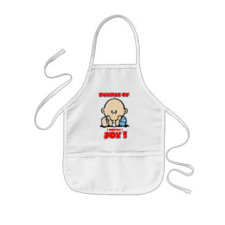Bundle of Joy - Mostly, Cute and Funny for Babies Kids' Apron