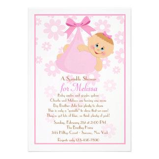 Bundle of Joy Pk Sprinkle Baby Shower Invitation