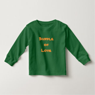 BUNDLE OF LOVE Infant's T-Shirts Baby Clothing