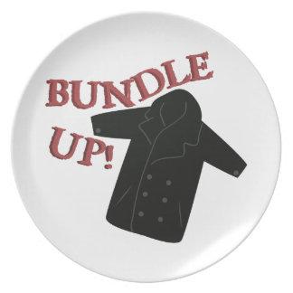 Bundle Pea Coat Dinner Plate