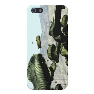 Bundles of food and water are air delivered iPhone 5 case