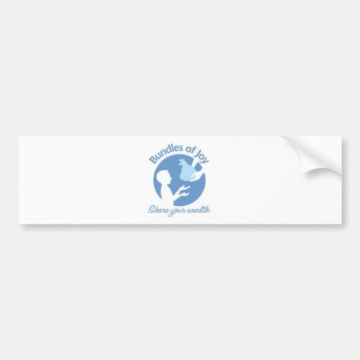 Bundles of Joy Bumper Sticker