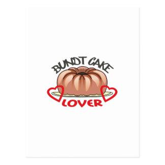 BUNDT CAKE LOVER POSTCARD